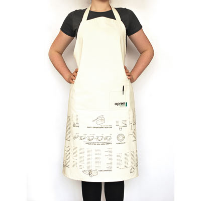 kitchen accessories cooking guide apron