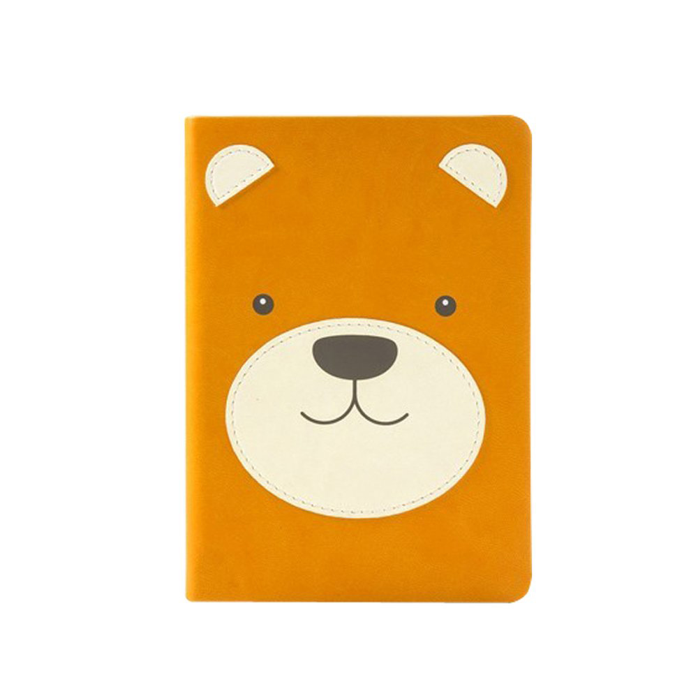 Animal Pals Lined Notebook - Bear