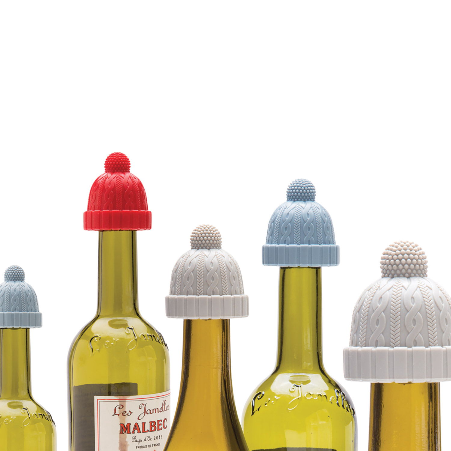 Beanie - bottle stopper
