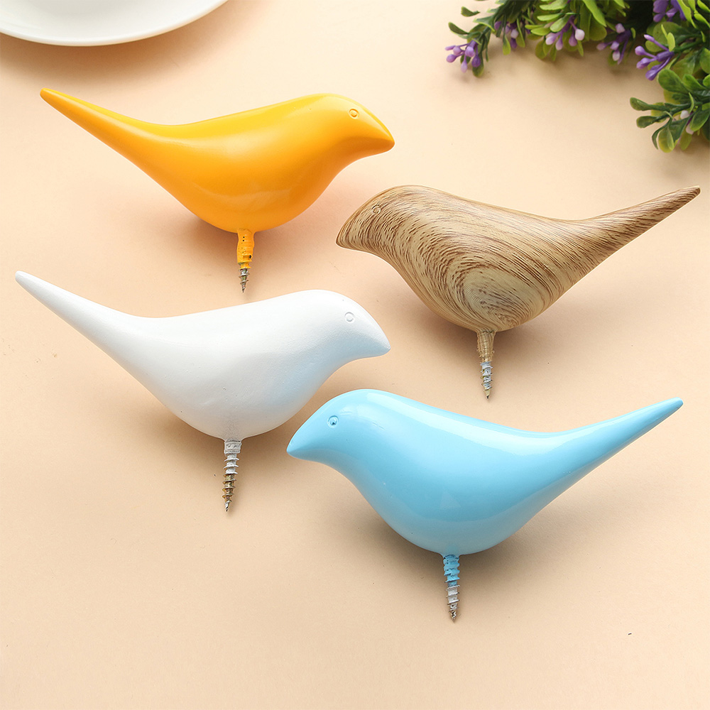 Bird Wall Hooks - Set of 2