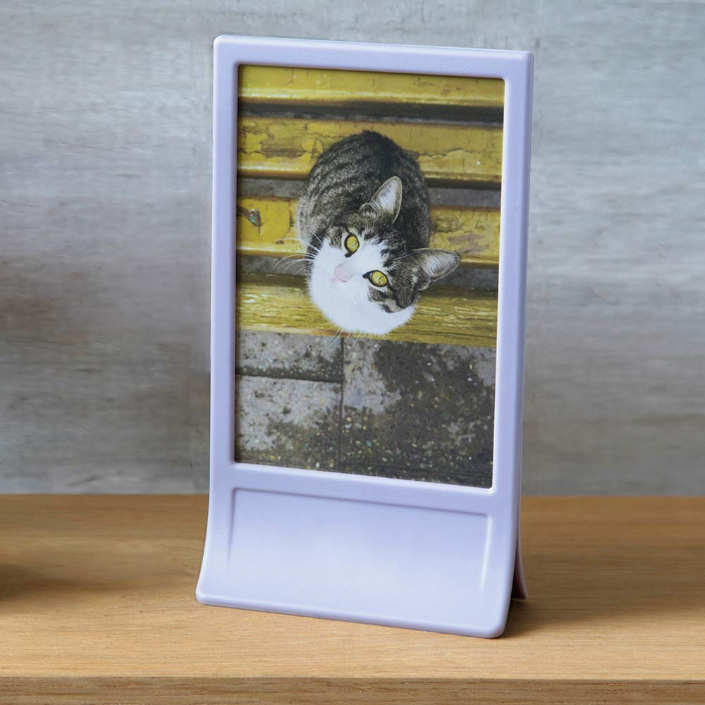 Clipic - Picture Clip Frame Lilac
