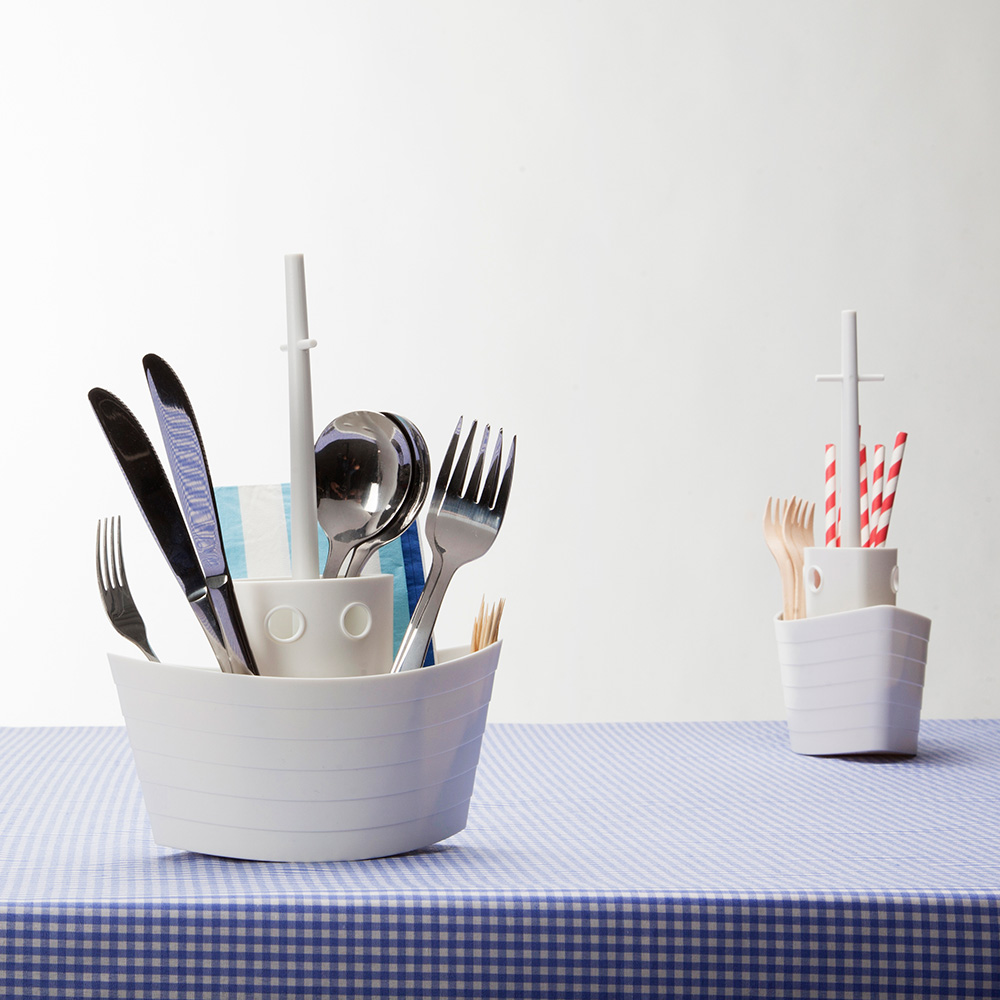 Dinner Boat - cutlery holder