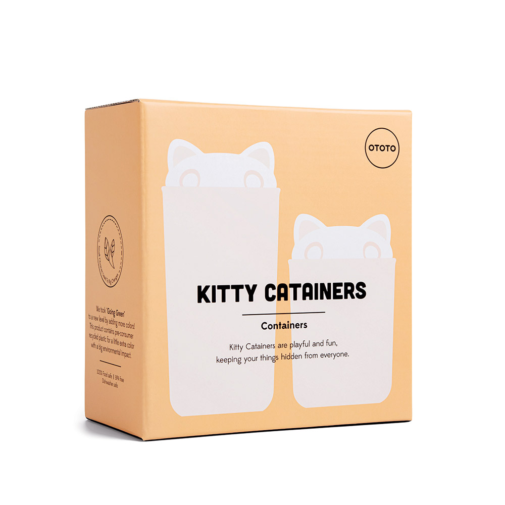 Kitty Catainers - Containers