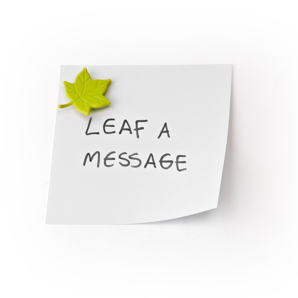 Leaf a Message - 6 Magnets