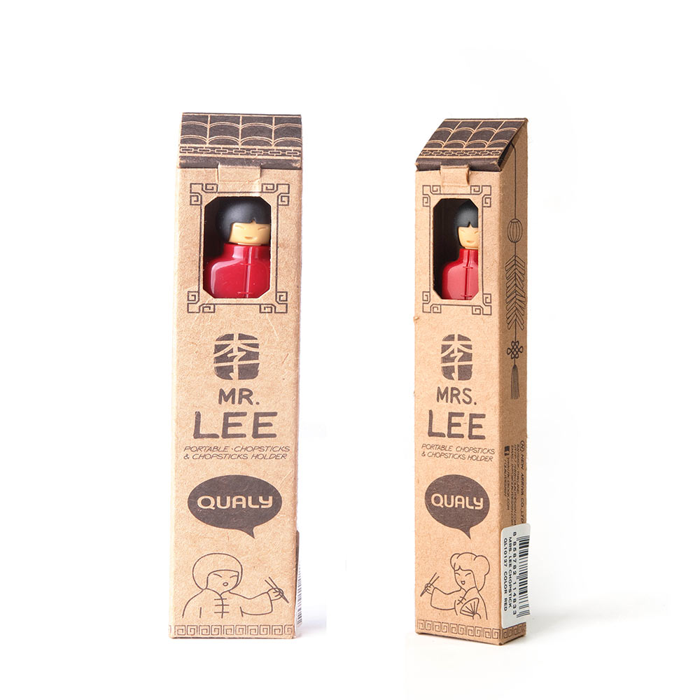 Mr. & Mrs. Lee - Portable Chopsticks