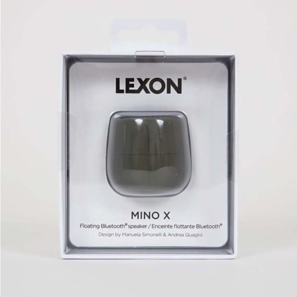 Lexon Mino X - Floating Bluetooth Speaker Black