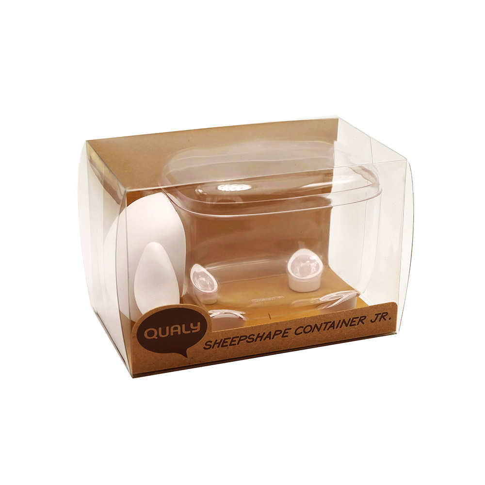 Sheepshape Container - Cotton Balls & Cotton Buds Holder