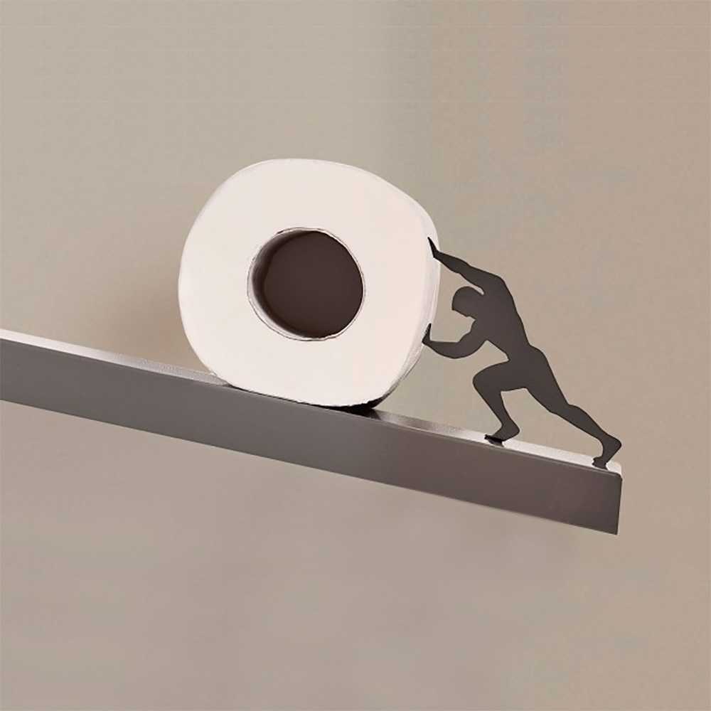 Sisyphus - Toilet Paper Shelf