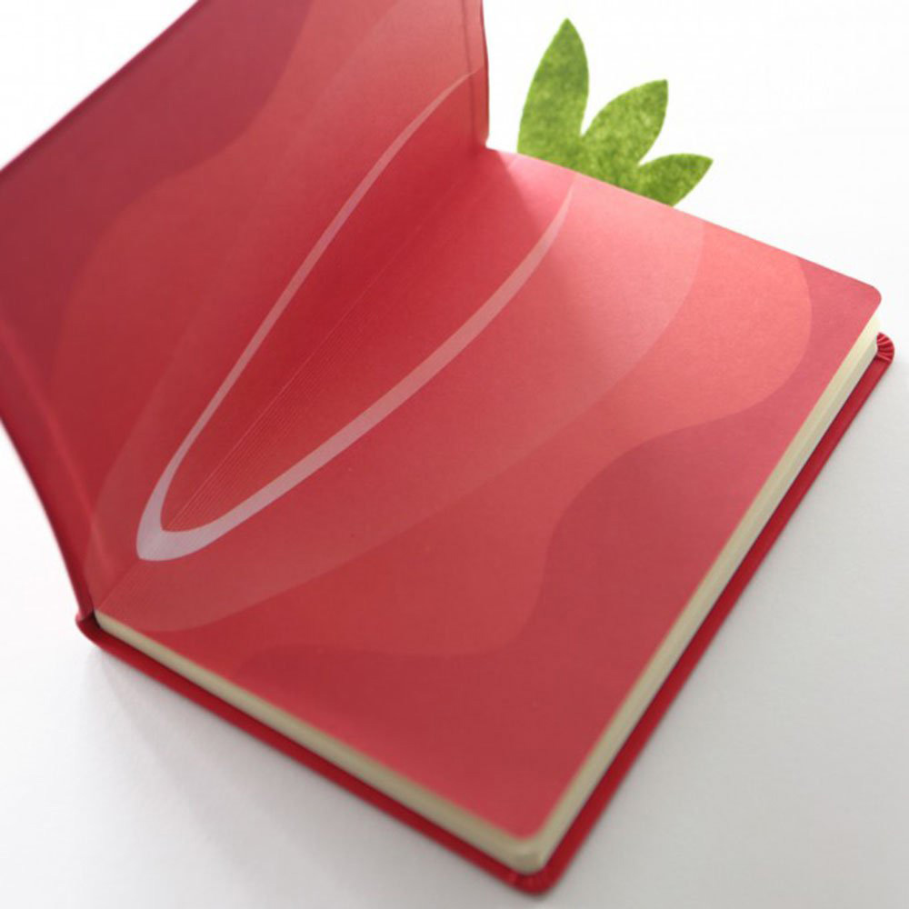 Juicy Notebook - Strawberry