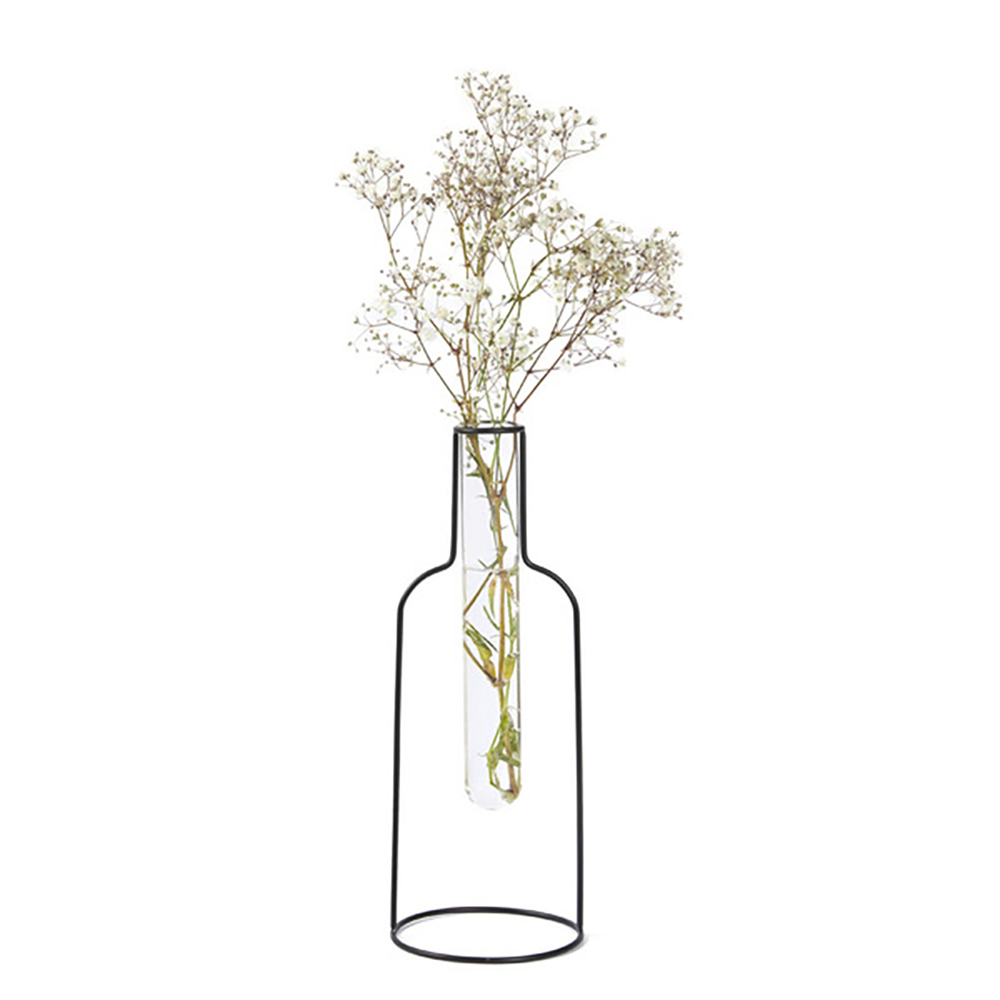 Bottle Silhouette Vase