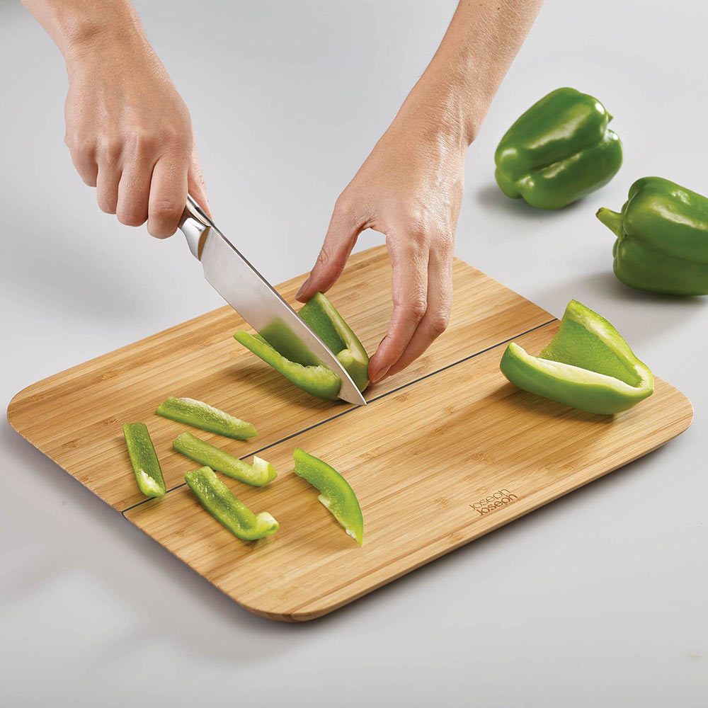 Chop2Pot Bamboo Folding Cutting Board Small