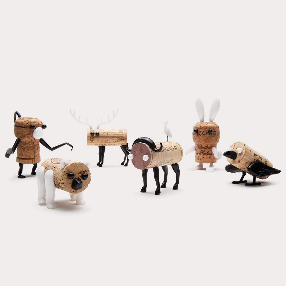 Corkers Animals Set