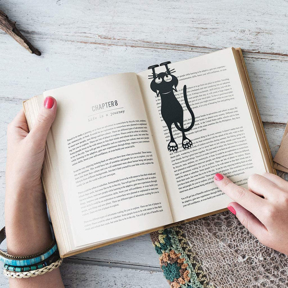 Curious Cat Bookmark