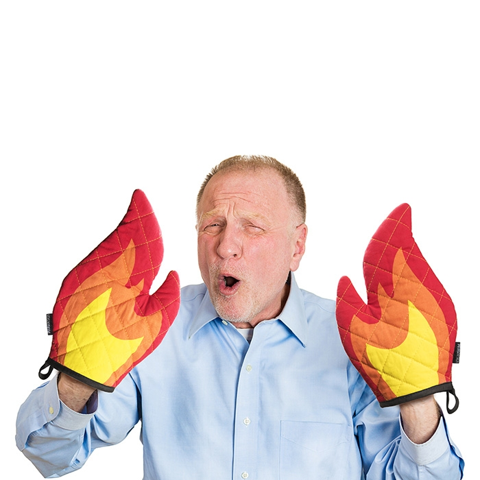 Flamitts - Oven Mitts