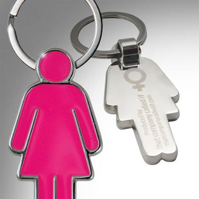 His and Her Keyrings