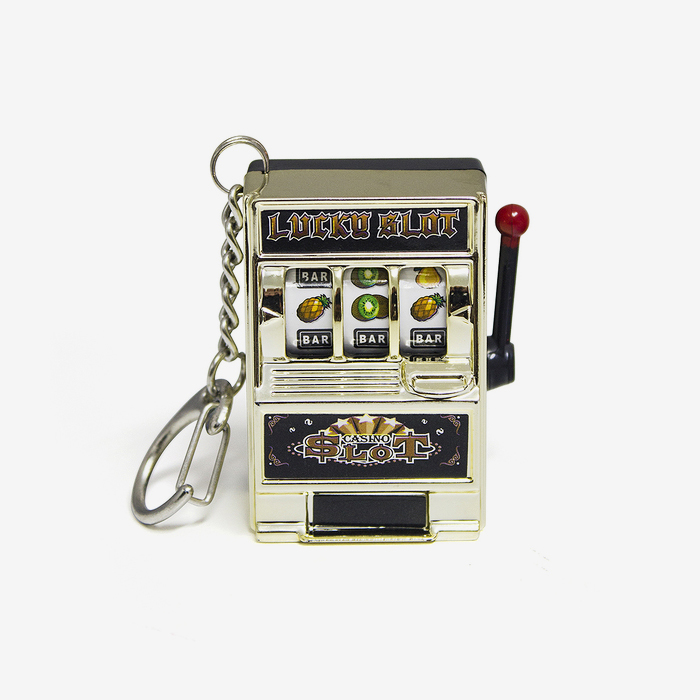 Las Vegas Slot Machine Keyring