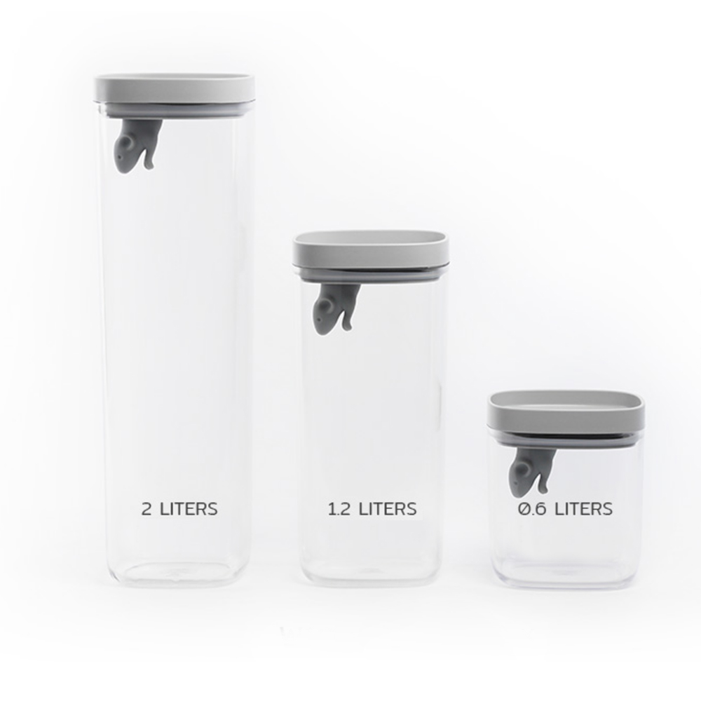 Lucky Mouse - Storage Jar Full Set
