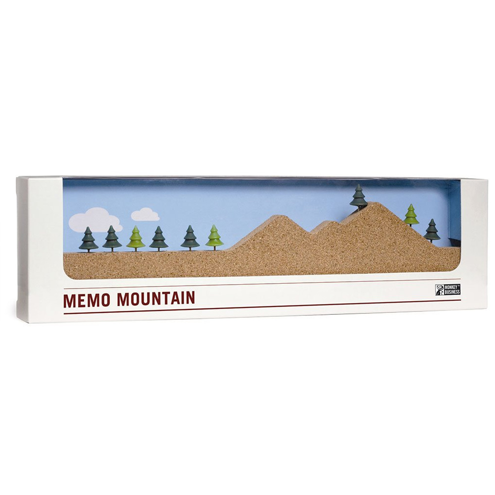 Memo Mountain - Cork note holder