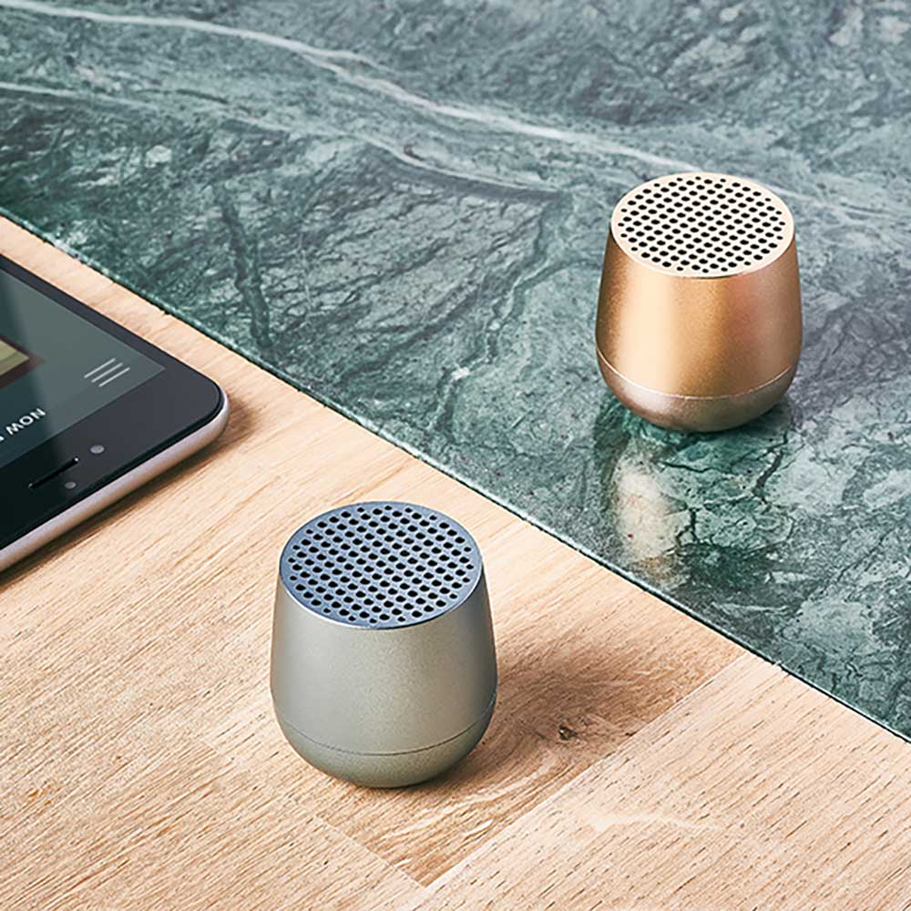Lexon Mino - Portable Bluetooth Speaker Light Blue
