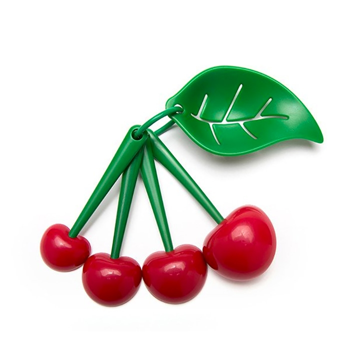 Mon Cherry - Measuring Spoons & Egg Separator