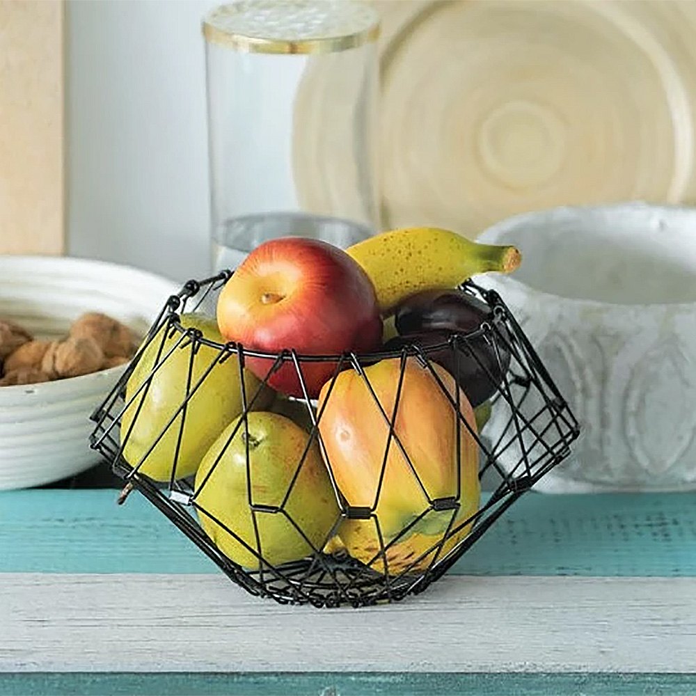 Multi Form Fruit Basket Black