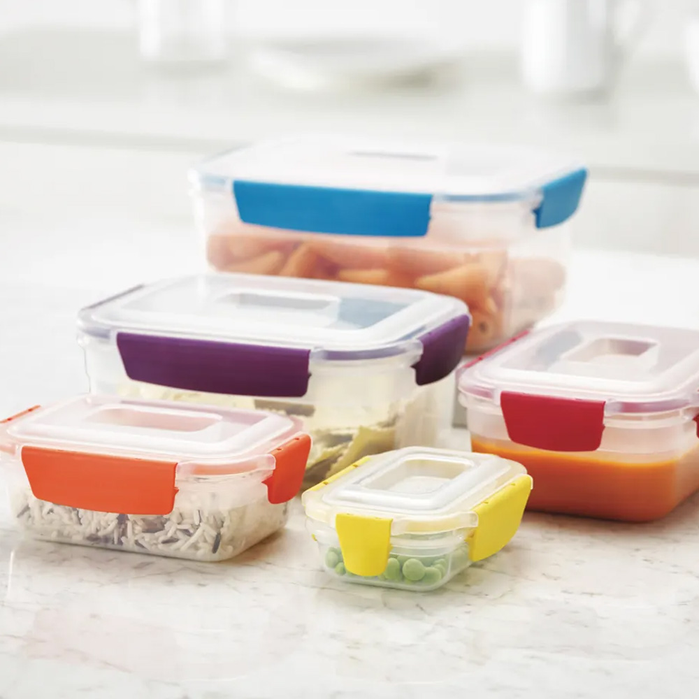 Nest Lock Multi-Size Containers