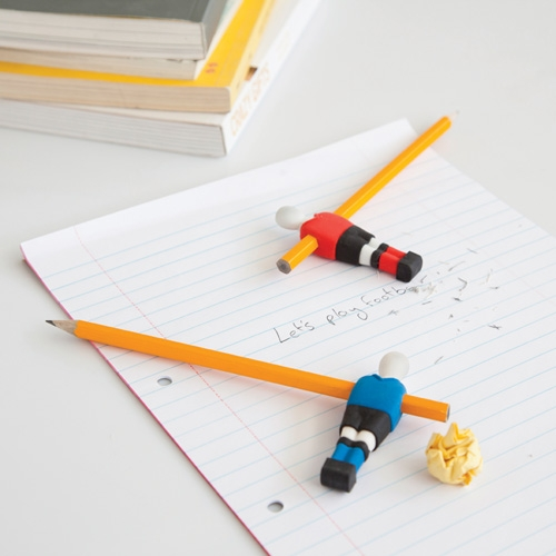 Penball Football Erasers