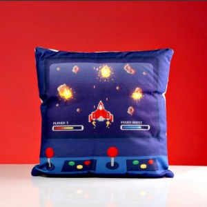 Game Over Led Cushion
