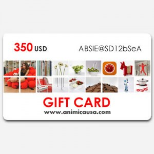 Gift Card  - 350 USD