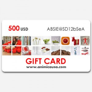 Gift Card  - 500 USD