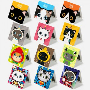 Magnetic Bookmarks Cartoon Cats