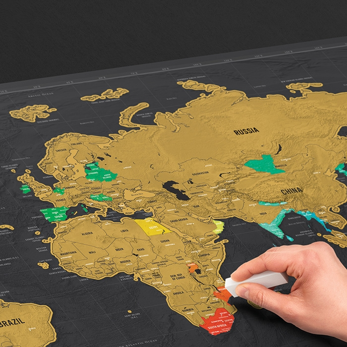 Scratch Map Deluxe XL