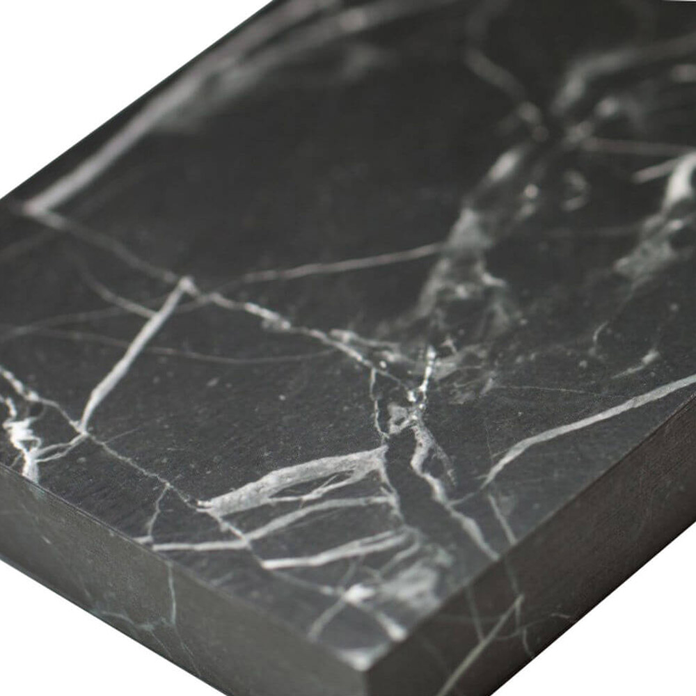 Slab Nero Marble - A6 Lined Notebook