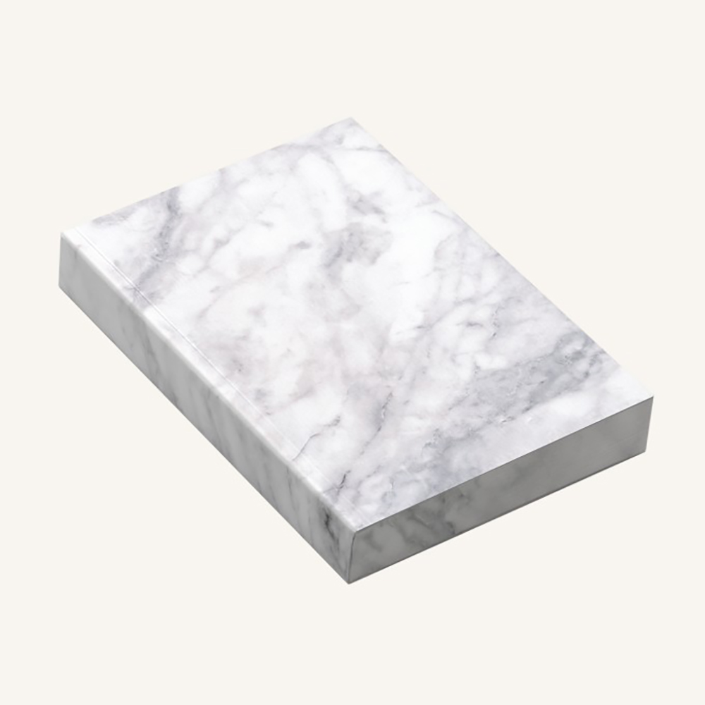 Slab Statuario Marble - A6 Lined Notebook