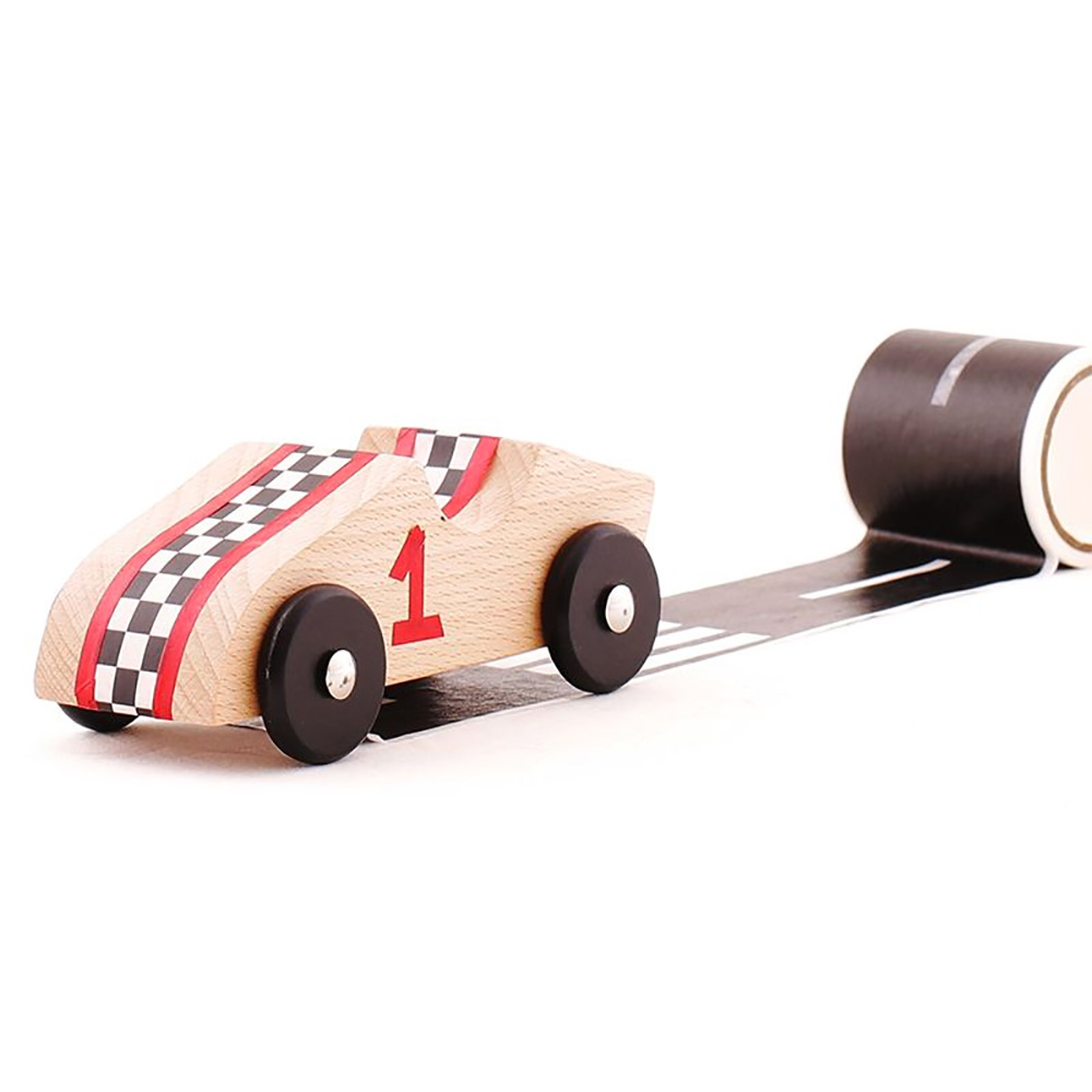 StiCar - Wooden Race Cars Kit