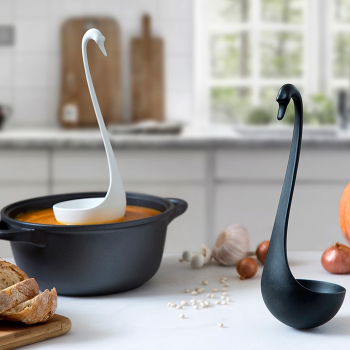 Swanky Floating Ladle Tricolor