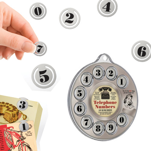 Telephone Numbers Page Markers