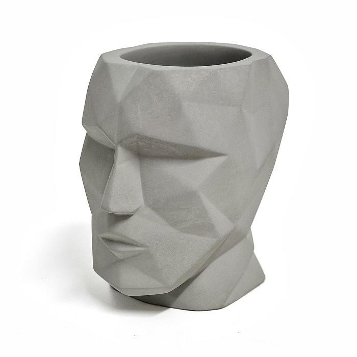 The Head -  Concrete Pen Cup