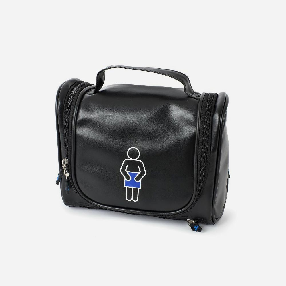 Black Travel Toiletry Bag