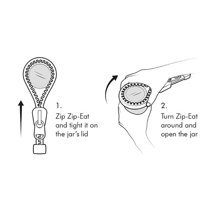 ZIP-EAT! Jar opener