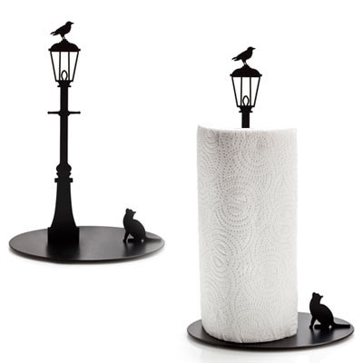 Unique Paper Towel Holders Impressive Cat And Crow Paper Towel Holder Practically Beautiful