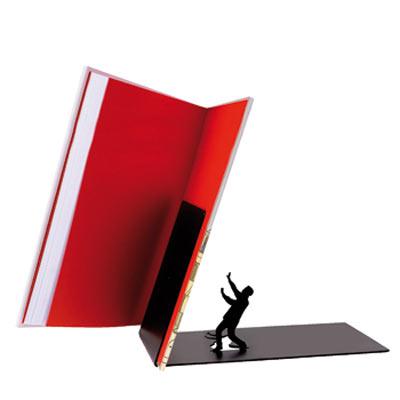 gift ideas falling bookend