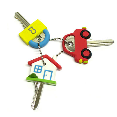 make finding the right key fun with eye catching key toppers